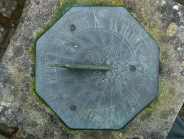 What we do - Picture of a Sundial